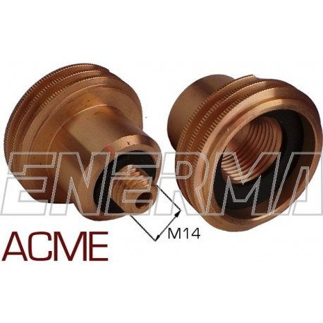 ACME Gas filler adapter Poland / Germany, Belgium - M14/41mm