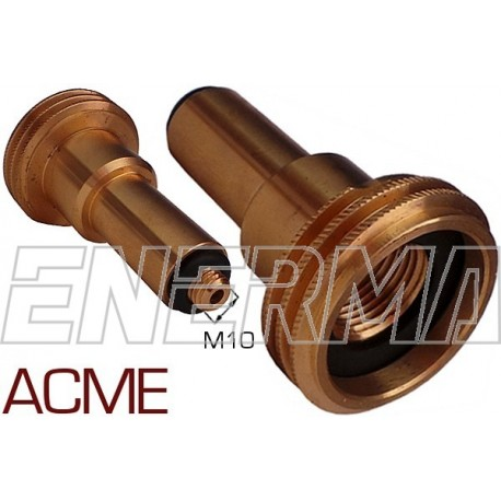 ACME Gas filler adapter Poland / Germany, Belgium - M10/80mm