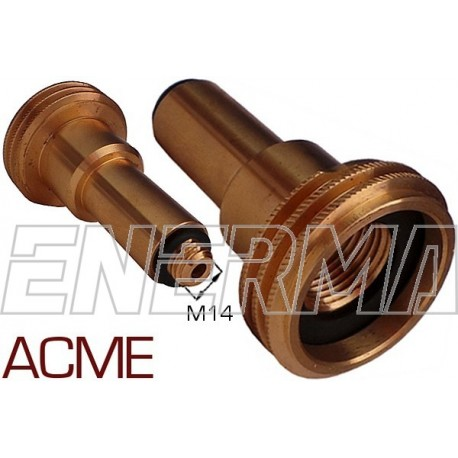 ACME Gas filler adapter Poland / Germany, Belgium - M14/80mm