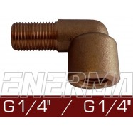 Elbow 90°  - G 1/4'' / G 1/4''