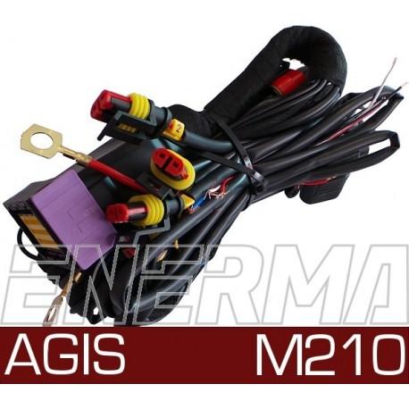 Agis M210 - okablowanie