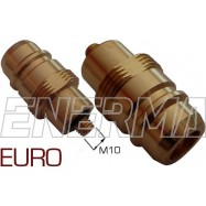 Gas filler adapter - Euro Connector  M10/M33x2/64mm