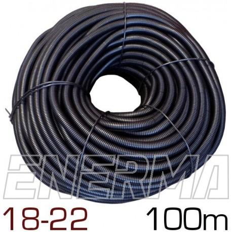 Peszel karbowany cięty Ø18 (18x22) - 100m