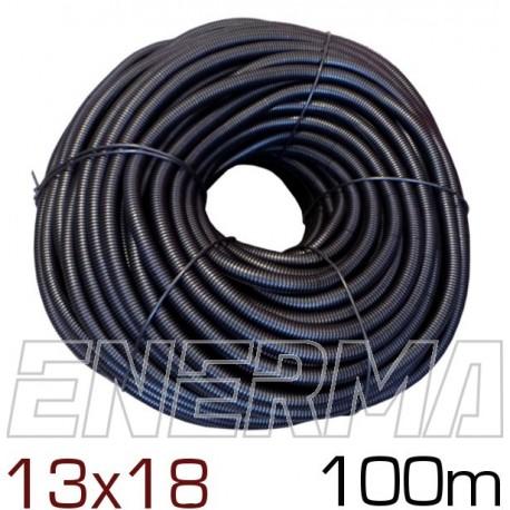Ribbed hose Ø13 (13x18) - 100m