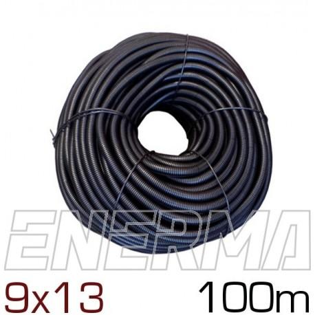 Peszel karbowany cięty Ø9 (9x13) - 100m