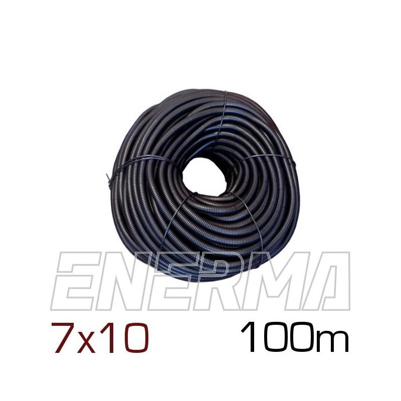 Peszel karbowany cięty Ø7 (7x10) - 100m