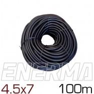Ribbed hose Ø4.5 (4.5x7) - 100m