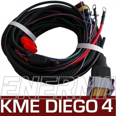 Wiązka 2- KME Diego G3 4cyl.