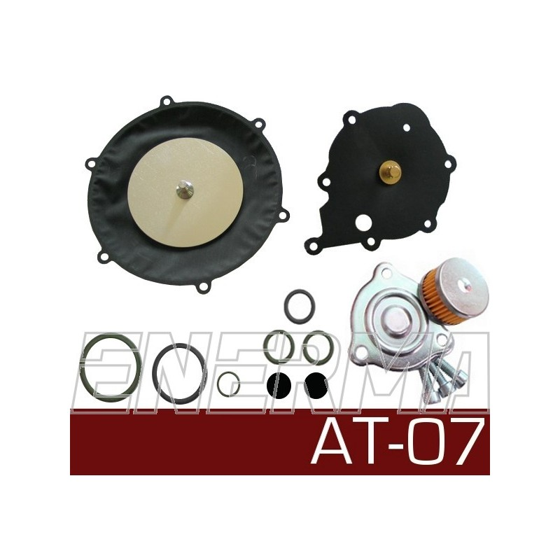 Membrany reduktora Tomasetto AT00, AT07 oryginał z filtrem