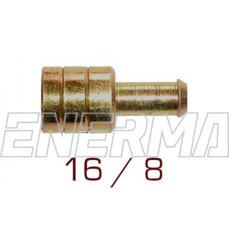 Union  8/16mm - brass