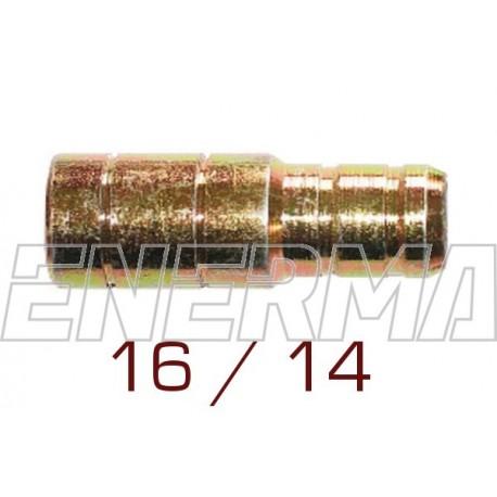 Union  14/16mm - brass