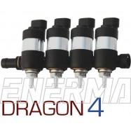 LPGTECH Dragon 4cyl. injection rail
