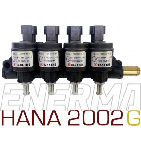 Injection rail HANA 2002  GOLD  4cyl.