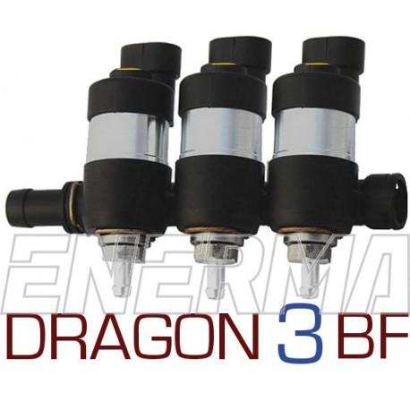 LPGTECH Dragon BF injection rail  3cyl.