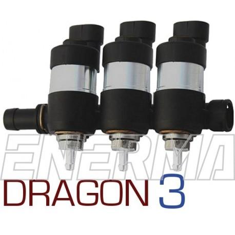 LPGTECH Dragon injection rail  3cyl.
