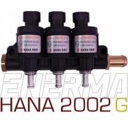 Listwa wtryskowa 3cyl. HANA 2002  GOLD