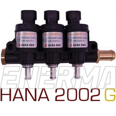 Injection rail HANA 2002  GOLD  3cyl.