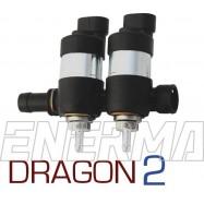 LPGTECH Dragon 2cyl.  Listwa wtryskowa