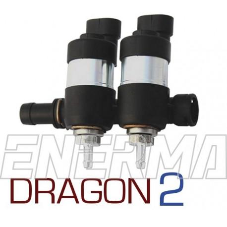 LPGTECH Dragon injection rail  2cyl.