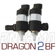 LPGTECH Dragon BF/Gold 2cyl.  Listwa wtryskowa
