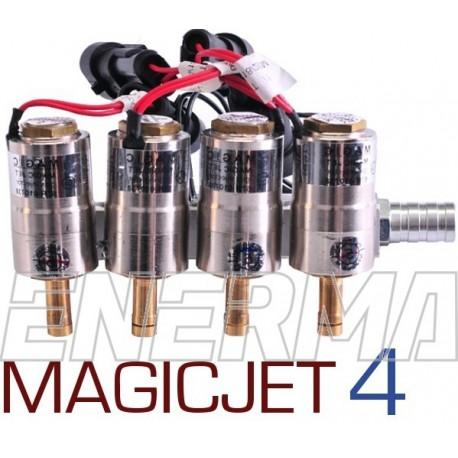 MagicJet 4cyl.  Listwa wtryskowa