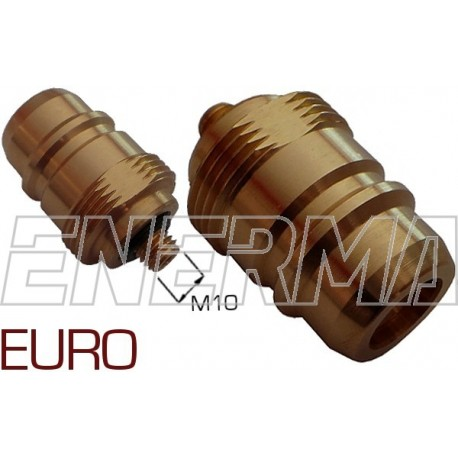Gas filler adapter - Euro Connector   M10/33x2/52mm