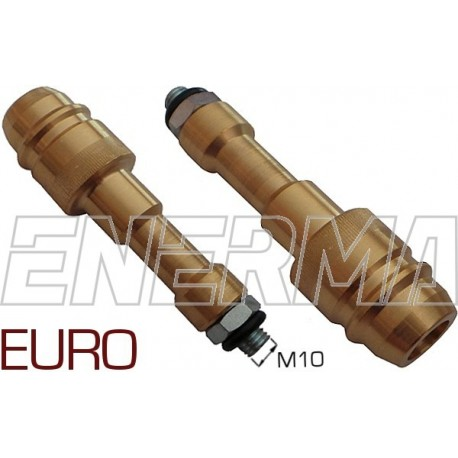 Gas filler adapter - Euro Connector  M10/96mm
