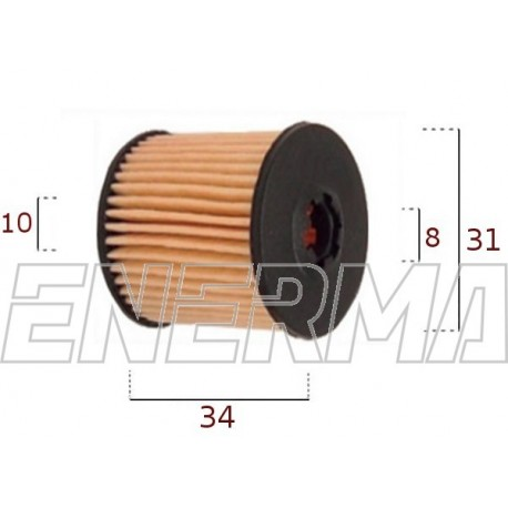Filter / cartidge Tartarini E08G   34/31