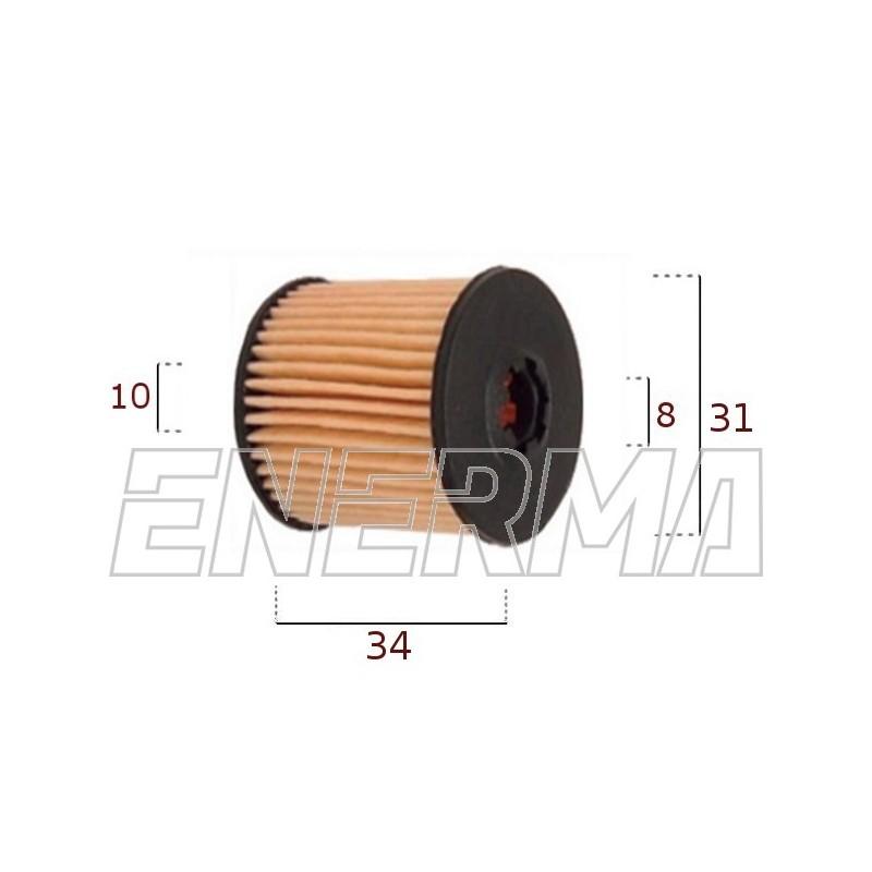 Filterek / wkład Tartarini E08G   34/31