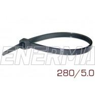 Opaska plastikowa 280/5.0 komplet 100 sztuk