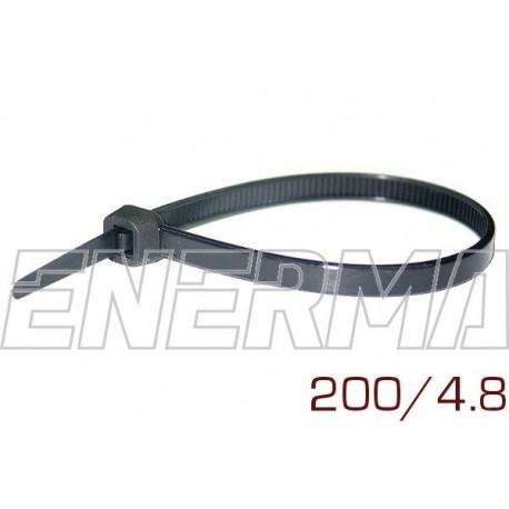 Opaska plastikowa 200/4.8 komplet 100 sztuk