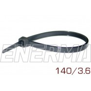 Nylon cable tie 140/3.6  100pcs