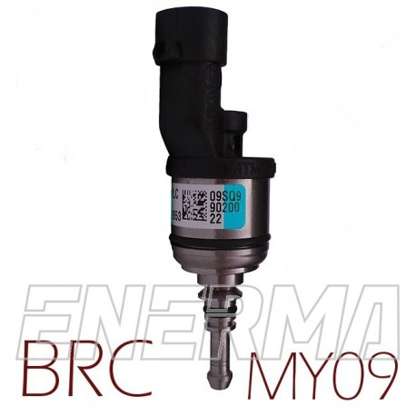 BRC MY09 blue version - 1cyl. Injector