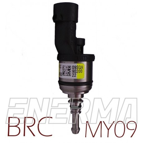 BRC MY09 yellow version - 1cyl. Injector