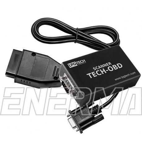 Scanner TECH-OBD  + przewód serwisowy