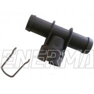 Adapter wtryskiwacza Hana/Barracuda - trójnik 12/12 plastik