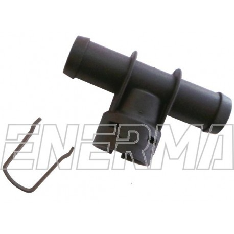 Plastic Adapter for injectror Hana/Barracuda - tee 12/12