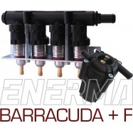 Injection rail BARRACUDA 115 - 4cyl. + ULTRA 360
