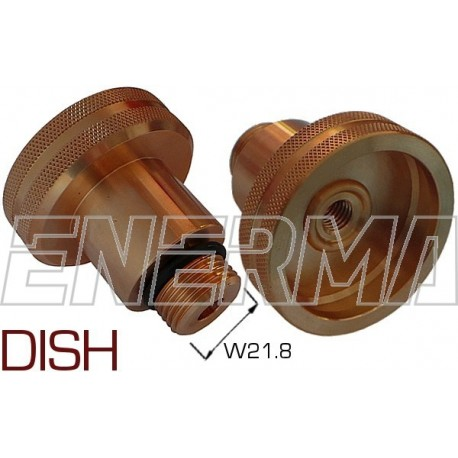 DISH Gas filler adapter Netherlands/Poland,Italy  - W21,8/55mm
