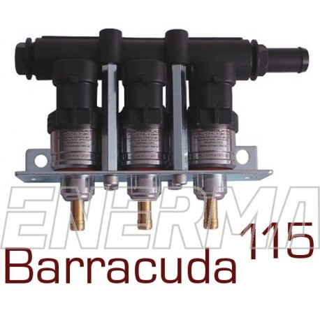 Injection rail BARRACUDA 115 - 3cyl.