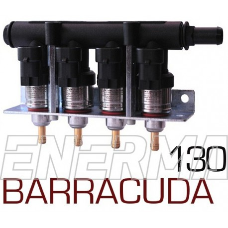 BARRACUDA 130 - 4cyl.  Injection rail