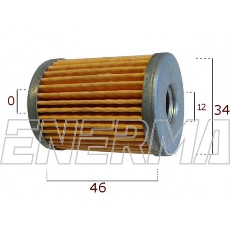 Filter / cartidge Tartarini FGM03   46/34/12/0