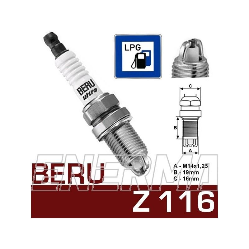 BERU Ultra Z116  spark plug