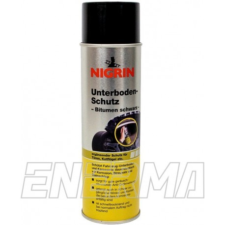 NIGRIN 74034 500ml - bitumen spray to protect the chassis