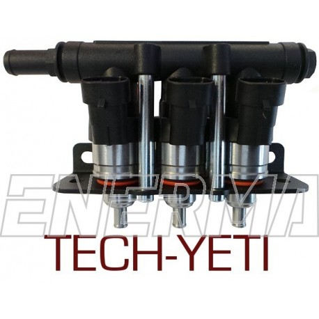 LPGTECH-YETI 3 cyl. injection rail