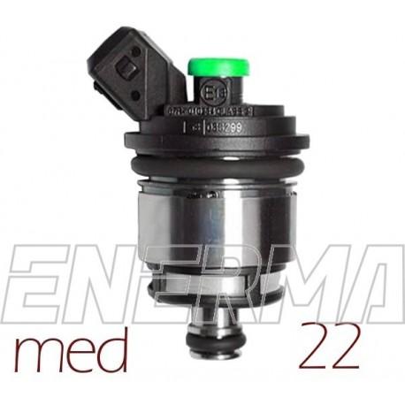 Injector Landi Renzo MED 22 - green