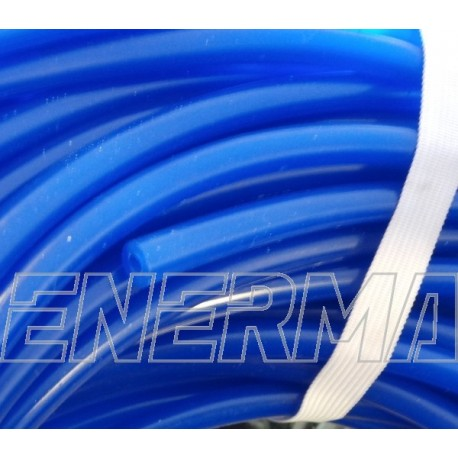 4mm Vacuum hose, silicone / BLUE