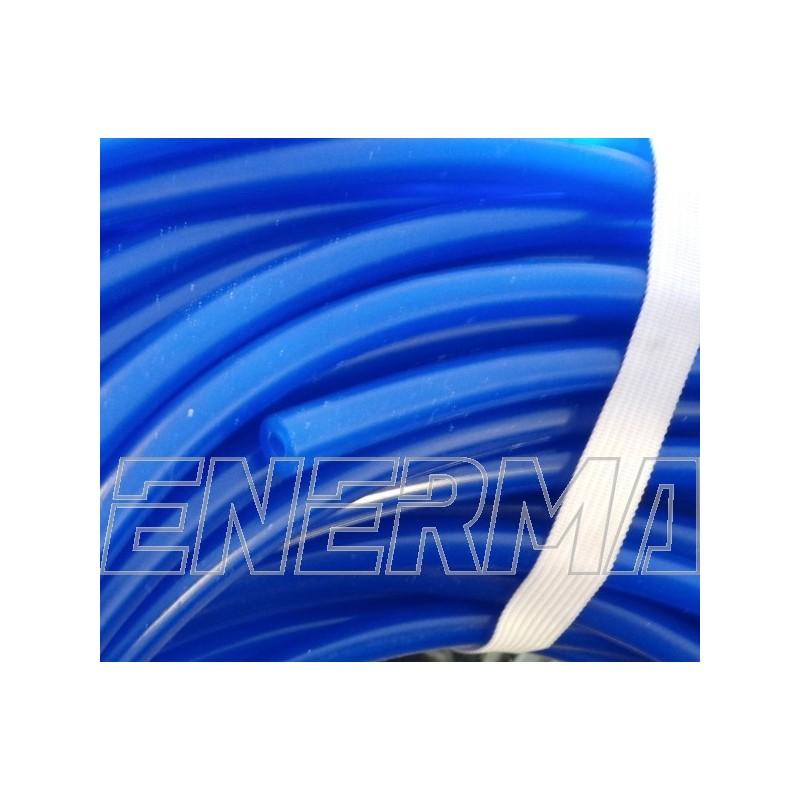 Przewód podciśnienia 4mm silkon / niebieski