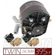 Reduktor KME R2 TWIN v1 / 2xOMB 6mm