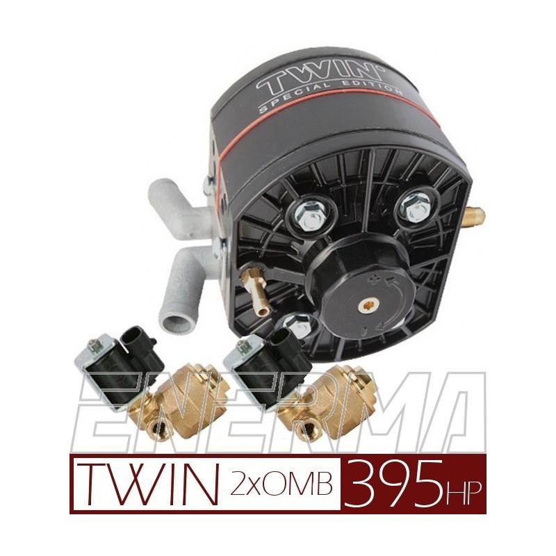 Reduktor KME R2 TWIN / 2xOMB 6mm